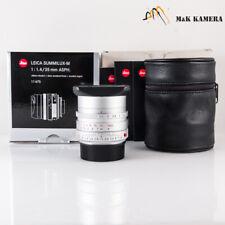 Leica Summilux-M 35mm F/1.4 ASPH / FLE Silver Lens Germany 11675 #675