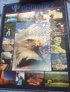 Springbok Jigsaw Puzzle Complete Over 400 Pieces America The Beautiful Multi Sz