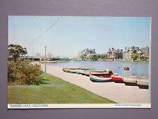 R&L Postcard: Canoe Lake Southsea, M & L 1960s