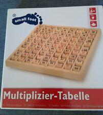 Jeu table de multiplication bois chiffres tournantes Marque Legler small foot