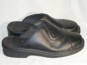 Women's Genuine Leather Clogs by Clarks - Worn a Couple of Times - Sz 9 W