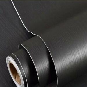 Paper Self Adhesive Contact Wood Vinyl Decor Waterproof Home Wooden Wallpaper