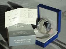 FRANCE 2006 1,50 EURO ARGENT SEMEUSE - ABOLITION PEINE DE MORT