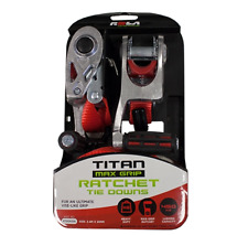 Rola TITAN Max-Grip Ratchet Tie Downs RTDOH236