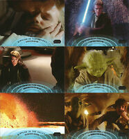 Star Wars Galactic Files Series 2 ~ RIPPLES IN THE GALAXY 10-Card Insert Set