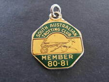 SATC South Australian Trotting Club 80 81 Member Badge