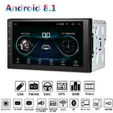 HD Touch Screen 7 Inch Android 8.1  GPS Stereo Radio FM Head Unit Universal