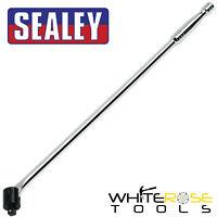 """Sealey Breaker Bar 600mm 1/2"""" Drive 24"""" Power Flexi Wheel Socket Wrench"""
