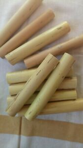 10 cannoli forms traditional Italian, hand made party size LONG LASTING