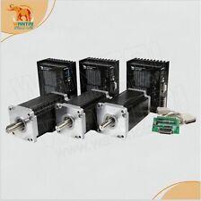 3 Axis Nema 42 Stepper Motor 4200oz-in CNC Driver,220V,8A      110BYGH201-001