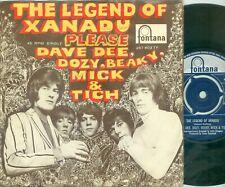 DAVE DEE, DOZY, BEAKY, MICK & TICH - LEGEND OF XANADU ( DUTCH 7'PS ) 1968