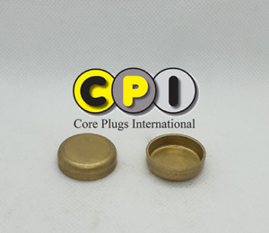 25mm Brass Cup type core / Freeze plug
