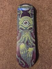 Creature Skateboards Limited Edition Rise of Cthulu Deck with Pancho Rare