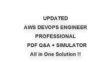 Amazon AWS Certified DevOps Engineer Professional  Exam Test QA PDF&Simulator