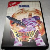 Forgotten Worlds Sega Master System *No Manual*