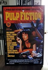 Pulp Fiction Luxury Framed LICENSED POSTER Limited-Edition-Certificate HUGE