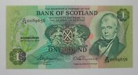 Scotland - 1977 - 1 Pound - P-111c - Uncirculated (Bank of Scotland)