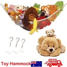 Soft Large Toy Hammock Mesh Kids Bedroom Storage Nursery Teddy Bear Net Childs