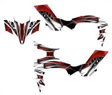 2009-13 YFZ450R graphics YFZ450X YFZ 450R 450X deco kit  NO4444 Red
