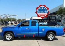 "fits 05-2011 Dodge Dakota Extended/Club Cab Flat Body Side Molding Trim 1.5"" 4Pc"
