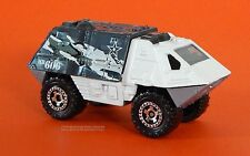 2014 Matchbox Loose Armored Response White Black Camouflage MB606 Combine Ship