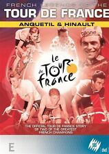 French Legends Of The Tour De France Anquetil & Hinault (DVD, 2007) Region 4