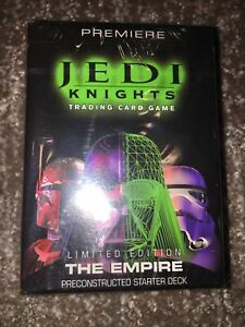 Star Wars: Jedi Knights Trading Card Game The Empire Starter Deck  Factory Wrap.
