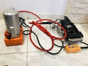 Izumi EP-60S Hydraulic Cable Crimping Head  W/ Daia DSP-120  Hydraulic Pump