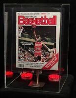 1986 Michael Jordan Rookie BASKETBALL Magazine MORE RARE THAN PSA 10 FLEER RC!