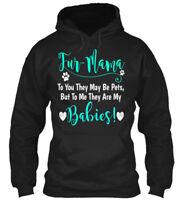 Fur Mama Cute Dog Mom Apparel S - Fur-mama To You They Gildan Hoodie Sweatshirt