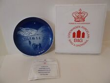 New ListingBing & Grondahl Christmas Plate 1972 Jule-After Christmas in Greenland B&G (S1