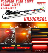 45cmDRL Switchback Flowing LED Strip Tube Light Sequential Turn Signal Universal