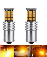 LED ampoule BA15S P21W Orange pour Clignotants 45 SMD EXTRA Auto Canbus