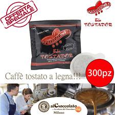 300 CIALDE CAFFE' EL TOSTADOR GUSTO FORTE + UN DELIZIOSO OMAGGIO / AROMA UNICO