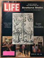 LIFE Magazine March 24, 1967 Svetlana Stalin, her defection story