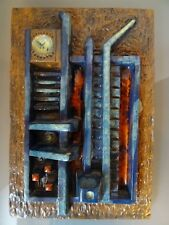 Orsted Johansen Keramik Reliff  Relieffplatte  Kachel Design