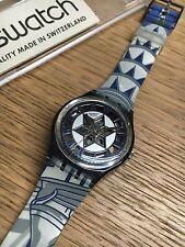 VINTAGE Swatch GP109 DECOSCRAPER 1994 GENT art