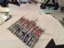 Palacio Skateboards SS16 Xlarge Blanco Invierno Londres Tee T-shirt Xl negro Tri Ferg