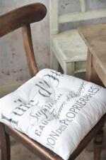 Jeanne d'Arc Living Stuhlkissen Kissen +Hülle Huile d'Olive Vintage Shabby 45x45