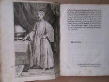 THEVENOT : RELATION VOYAGE FAIT AU LEVANT, 1664. Manque titre, portrait Chauveau