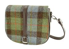 Ladies Authentic Harris Tweed Shoulder Bag Gunn Tartan LB1000 COL 15