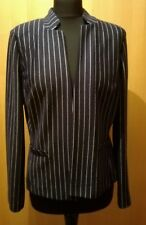 NEW M&S jacket size 12 Jersey striped