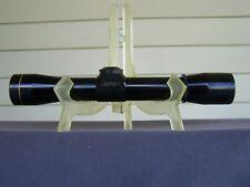 New listing Leupold 4x28mm Rifle Scope Rimfire Special Gloss ~Nice~ 1985