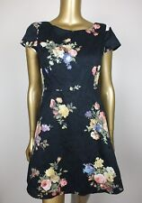 PRINCESS HIGHWAY DANGERFIELD DRESS BLUE FLORAL MINI DRESS -  8