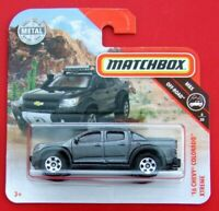 MATCHBOX 2019  ´16 CHEVY COLORADO XTREME    67/100   NEU&OVP