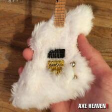"""Axe Heaven Billy Gibbons """"The Fur"""" Mini Guitar Bass Replica"""