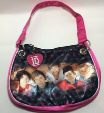 One Direction 1D Bag Handbag Pencil case Cosmetic Purse 2012 Pink