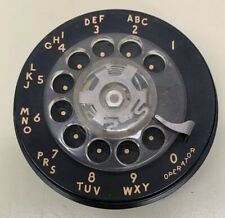 Rotary Phone Dialer Part Black Clear Finger Wheel Working With Wiring Harness