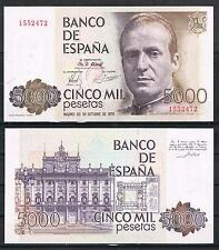 ESPAÑA   BILLETE 5000 PESETAS 1979 JUAN CARLOS I Sin Serie   SC-  AUNC