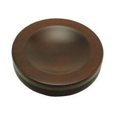 Wood Piano Caster Cups - Standard Size - Walnut Satin